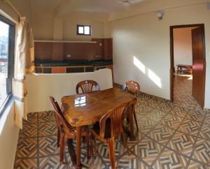 Large open spaces in premium rooms