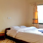 Double bed in premium room